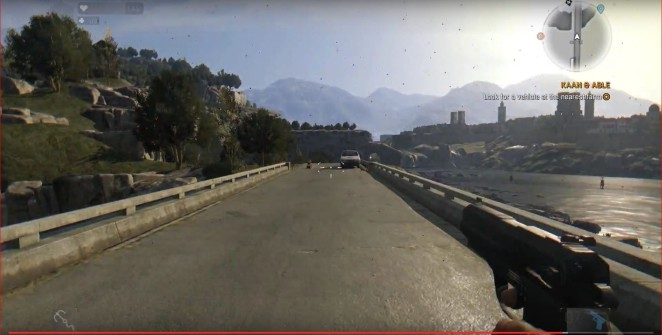 How big is map Dying Light Following