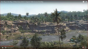 Metal Gear Solid V (Map: Angola) - Walk Across the Map