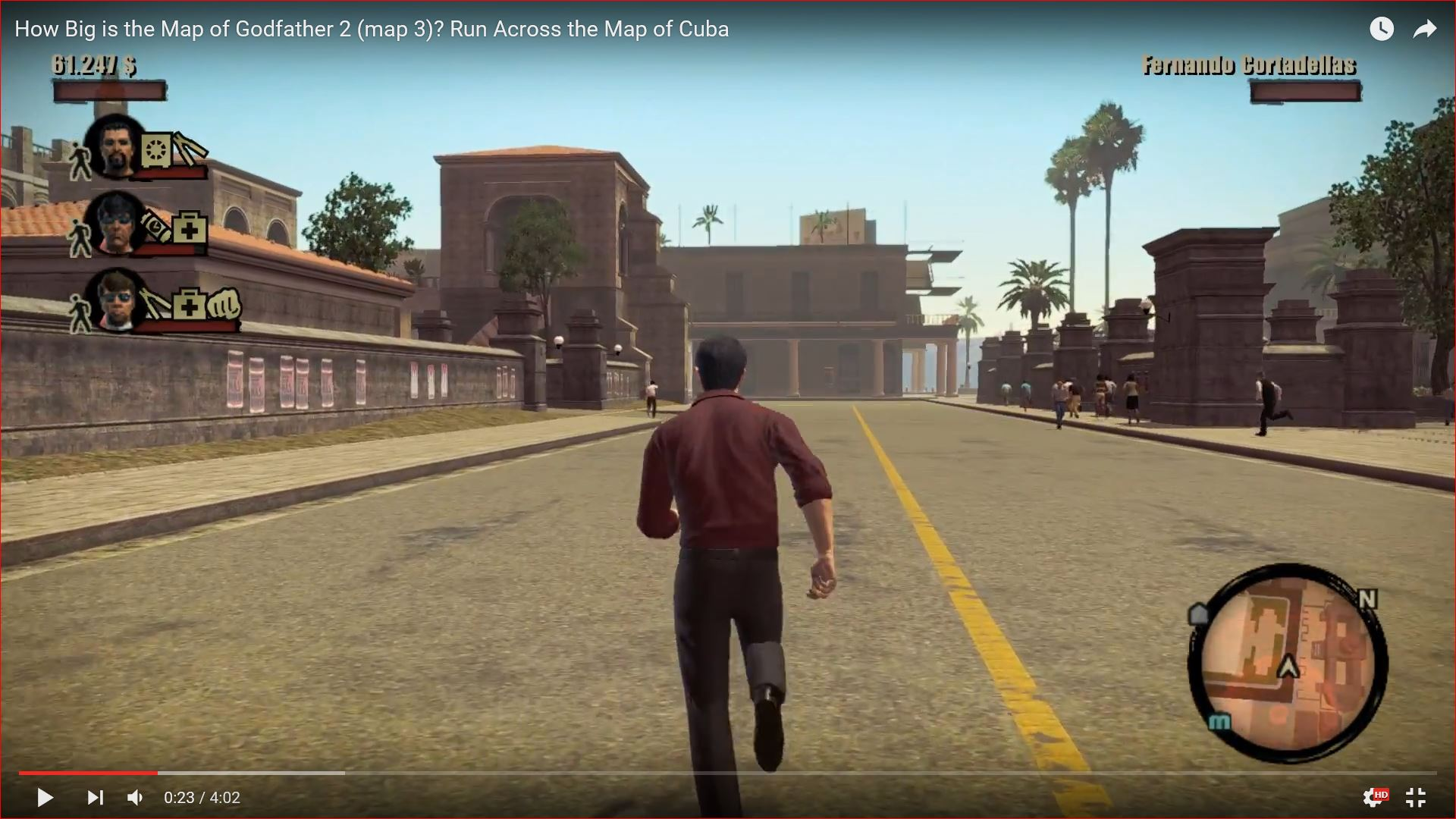 Godfather II (Map 3) - Run Across the Map of Cuba - How Big ... on mafia 2 map, halo 2 map, mother 2 map, the godfather map, godfather beverly hills house, batman 2 map, goonies 2 map, godfather game windows 8, half-life 2 map, godfather filming locations, godfather film, godfather five families, transformers 2 map, indiana jones 2 map, godfather movie house, saints row 2 map, just cause 2 map, godfather drawings, godfather 3 game, spiderman 2 map,