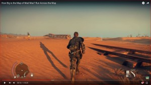 Mad Max Map