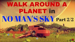 Walk Around a Planet