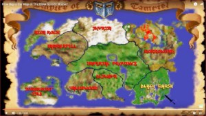 Map Elder Scrolls Arena