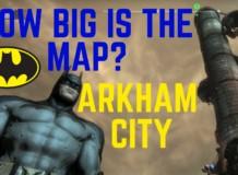 Map Arkham City