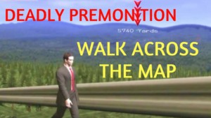 Deadly Premonition map
