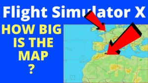 Flight Simulator X Map