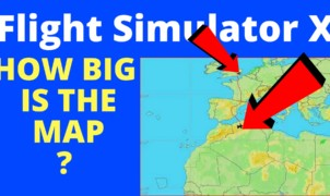 Flight Simulator X Map
