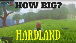 Hardland Map