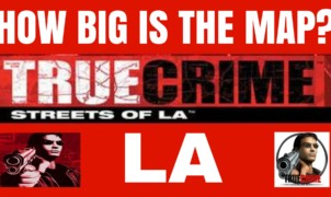 True Crime Streets of LA Map