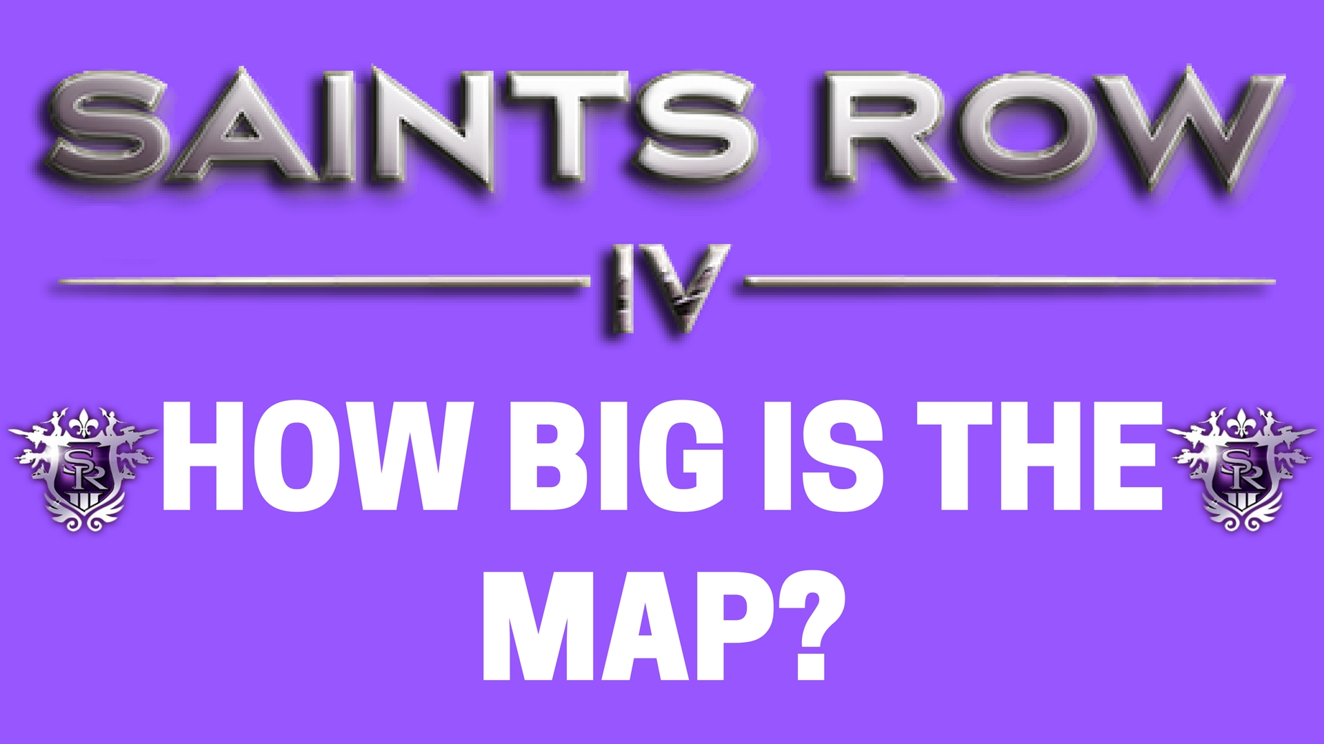 Saints Row IV - Walk Across the Map - How Big is the Map