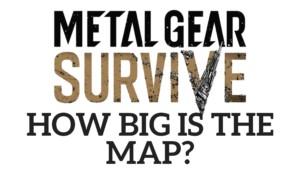 Metal Gear Survive Map