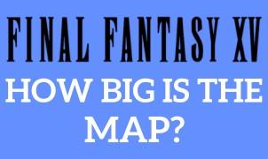 Map Final Fantasy XV