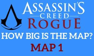 Map Assassin's Creed Rogue