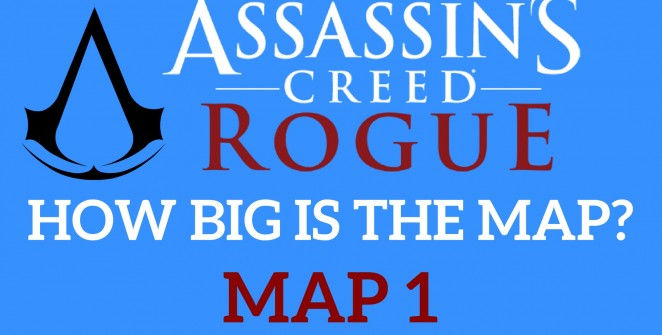 Map Assassin's Creed Rogue