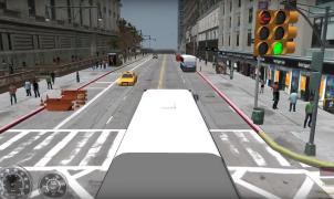 City Bus Simulator 2010 map
