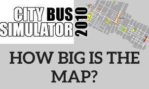 Map City Bus Simulator 2010