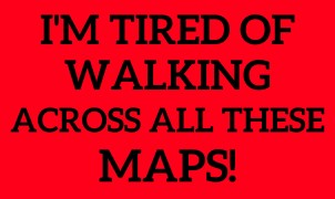 Tired of walking
