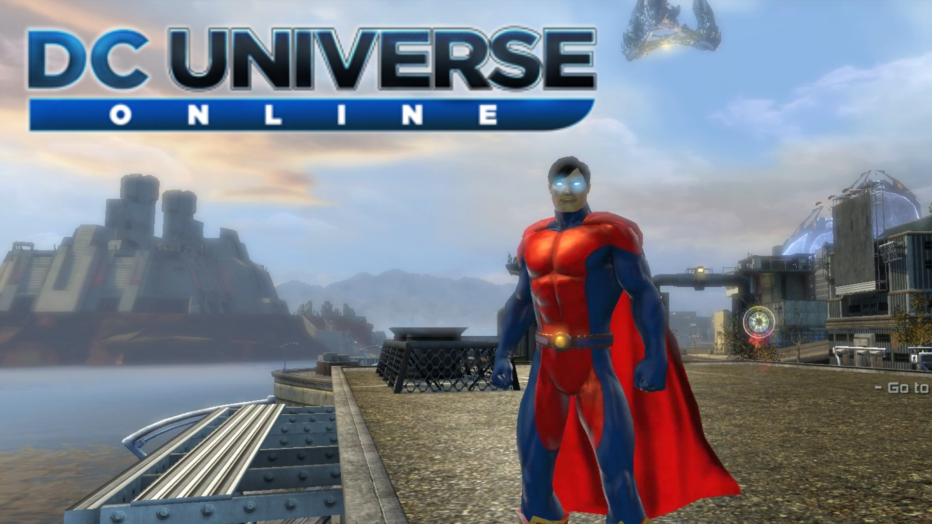 DC Universe Online - Run Across the Map - How Big is the Map