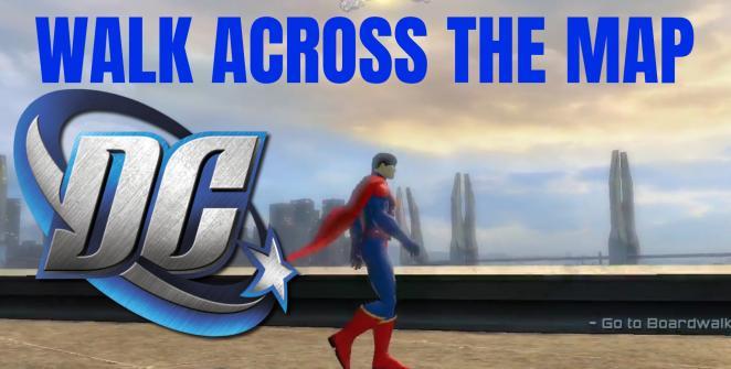 Map DC Universe Online