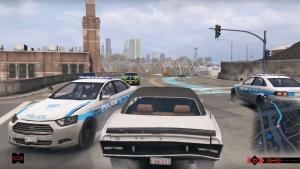 Watch Dogs drive across the map