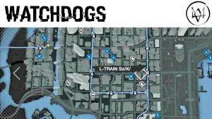Map Watch Dogs