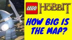 Map Lego The Hobbit