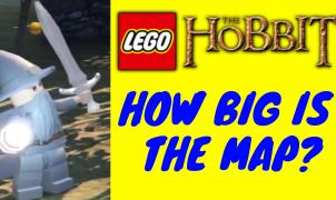 Map Lego The Hobbit