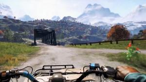 Far Cry 4 drive across the map