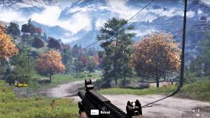 Far Cry 4 across the map