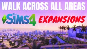 Sims 4 expansion packs maps