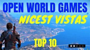 Open world games vistas