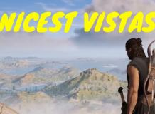 Nicest vistas
