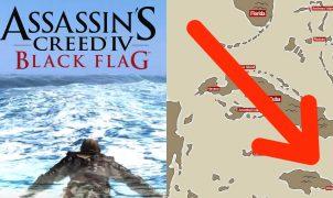 Swim across entire map Black Flag timelapse