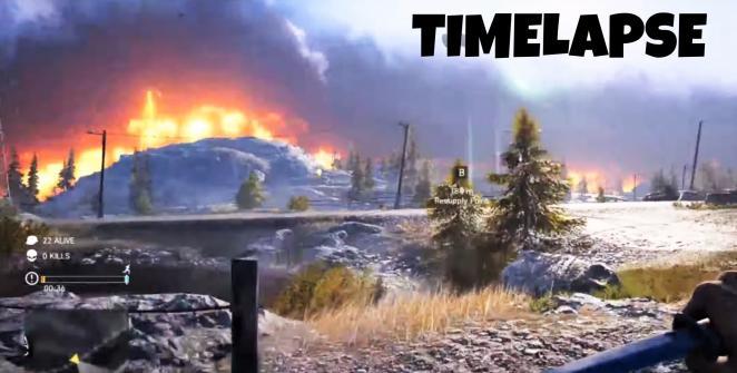 Firestorm map timelapse