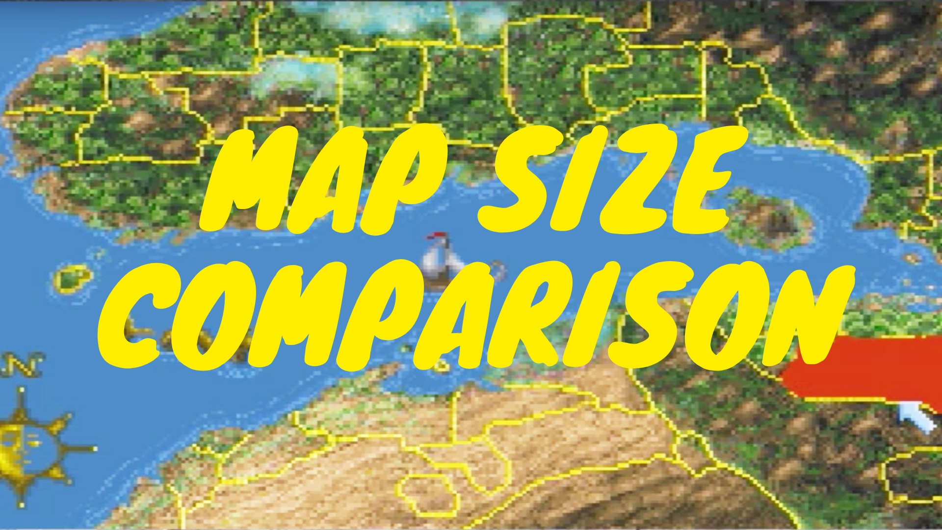 Map Size Comparison A How Big Is The Map