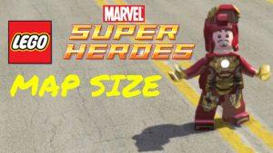 Map Lego Marvel Super Heroes