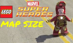 Map Lego Marvel Super Heroes