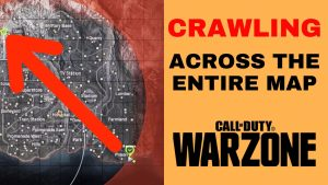 Crawling across Warzone map