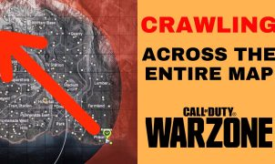 Crawling across Warzone map