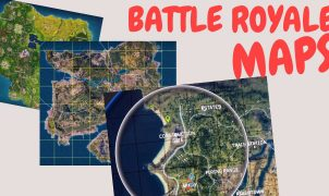 Battle Royale Game Maps Size Comparison