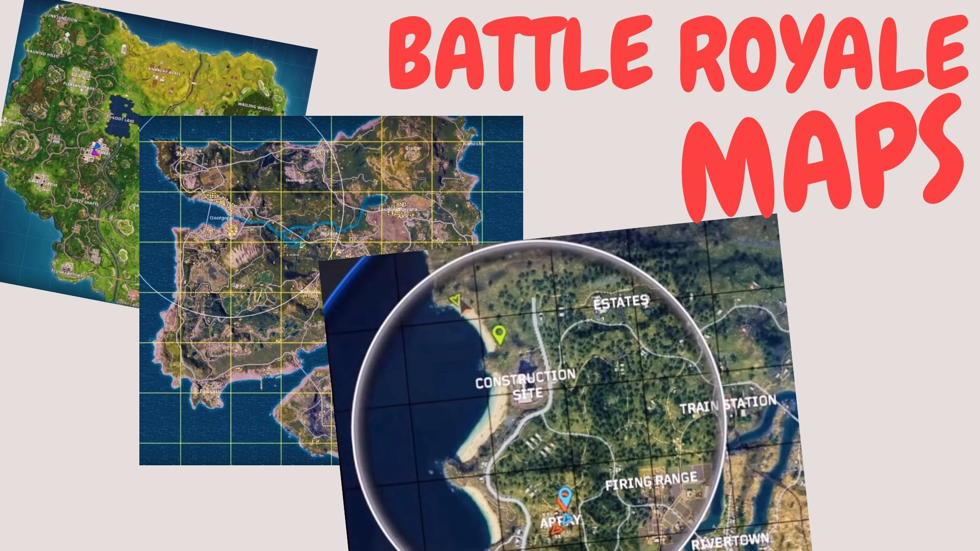 Fortnite Map Area Size Battle Royale Game Maps Size Comparison How Big Is The Map