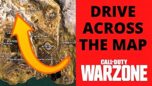 Warzone Drive across the map