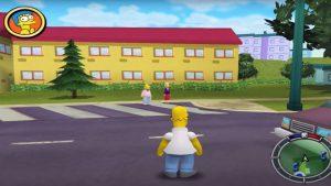 Simpsons Hit run Map