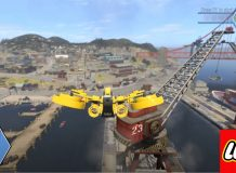 Map size Lego City Undercover