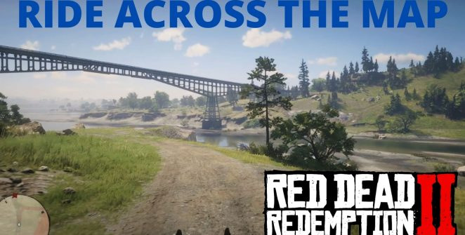 Red Dead Redemption 2 ride across the map