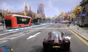 Watch Dogs Legion drive across the map