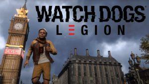 Watch dogs Legion Map size