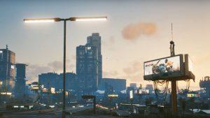 Map Night City