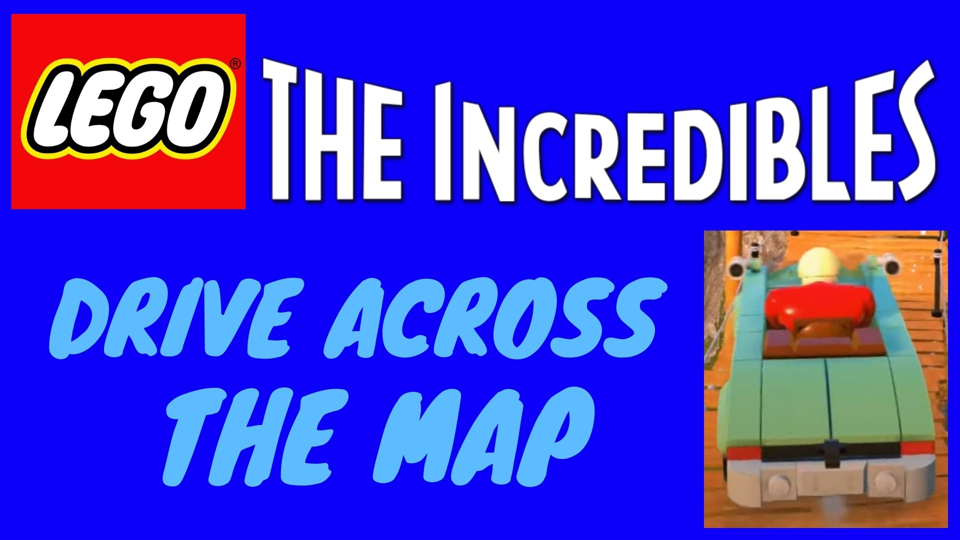 Map Lego Incredibles