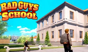 Bad Guys at School Map