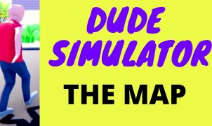 Dude Simulator Map